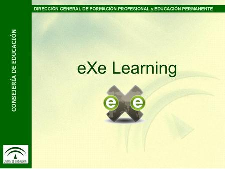 EXe Learning.