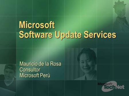 Microsoft Software Update Services