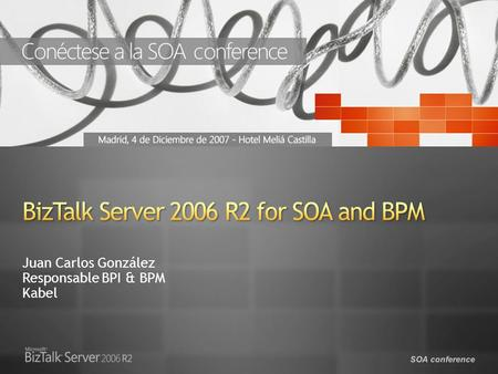 BizTalk Server 2006 R2 for SOA and BPM