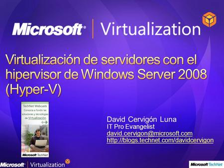 David Cervigón Luna IT Pro Evangelist