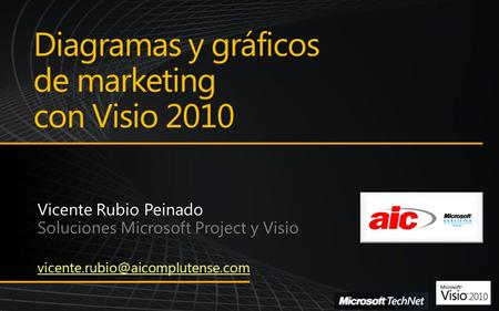 Diagramas y gráficos de marketing con Visio 2010.