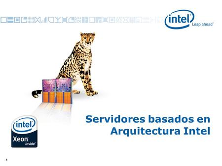 11 Servidores basados en Arquitectura Intel. 2 * Other names and brands may be claimed as the property of others. Copyright © 2008, Intel Corporation.