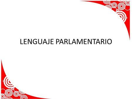 Manual De Reglas Parlamentarias
