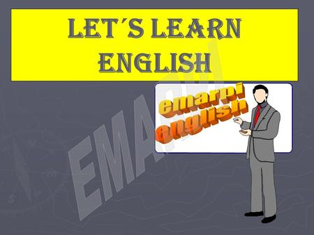 Let´s learn english. Index Unit 1 Presente Simple p3 Unit 2 There is & There are p10 Unit 3 Presente Continuo p13 Unit 4 Pasado Simple p21 Unit 5 Pasado.