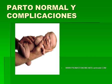 Placenta y anexos ovulares