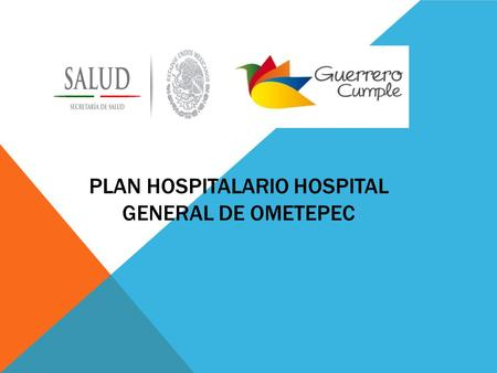 PLAN HOSPITALARIO HOSPITAL GENERAL DE OMETEPEC. DESCRIPCION HOSPITAL GENERAL DE OMETEPEC - El hospital de Ometepec se encuentra ubicado a 1050 m.s.n.m.