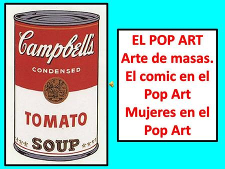 Pop Art Mujeres en el Pop Art
