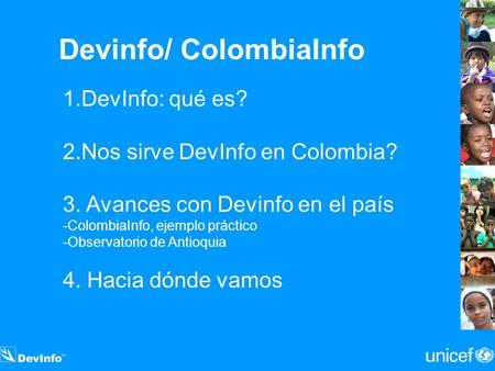 Devinfo/ ColombiaInfo