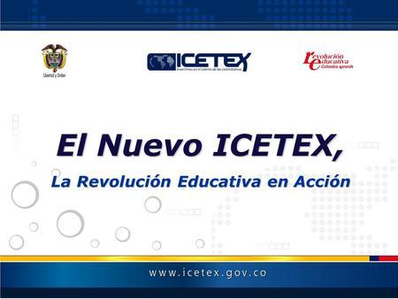 Abril De 2005 Instituto Colombiano De Cr Dito Educativo Y