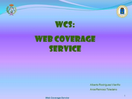 WCS: WEB COVERAGE SERVICE