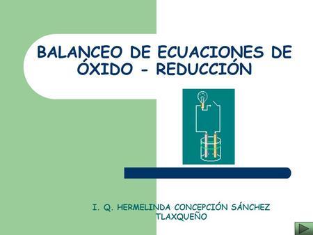 Balanceo oxido reduccion pdf