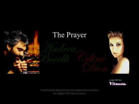 Andrea Céline Bocelli Dion The Prayer