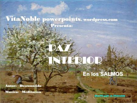 VitaNoble powerpoints. wordpress.com Presenta: