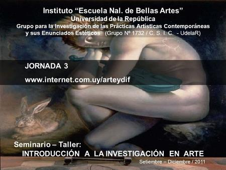 "Instituto ""Escuela Nal. de Bellas Artes"""