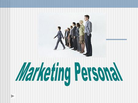 Marketing Personal.