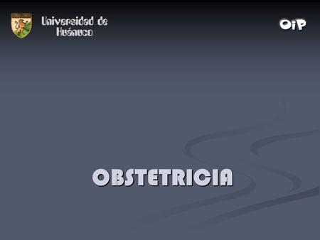 OBSTETRICIA.