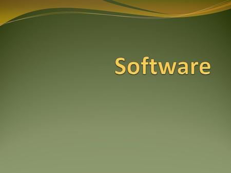 Software.