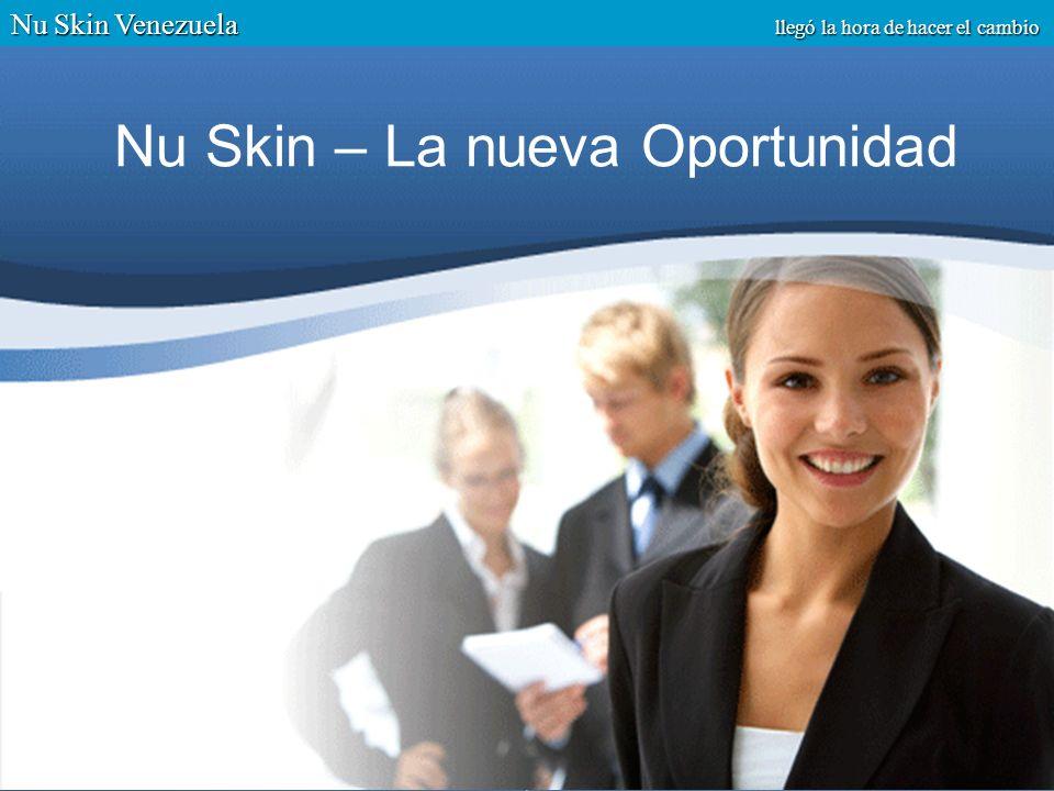 ¿Por qué Nu Skin, por qué ahora.