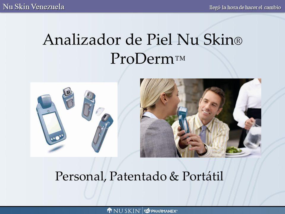 3 5 6 1 2 3 5 6 4 Decoloración Líneas y Arrugas Textura Tamaño del Poro Atributos Clave Nu Skin Venezuela llegó la hora de hacer el cambio