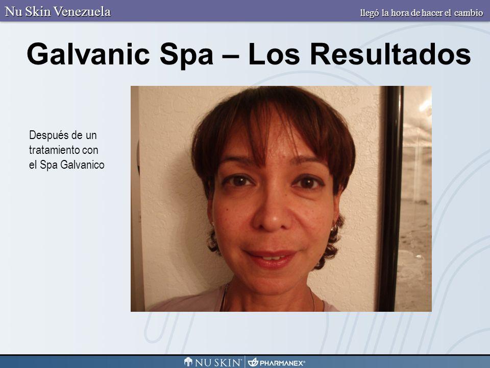 Galvanic Spa – Los Resultados Nu Skin Venezuela llegó la hora de hacer el cambio