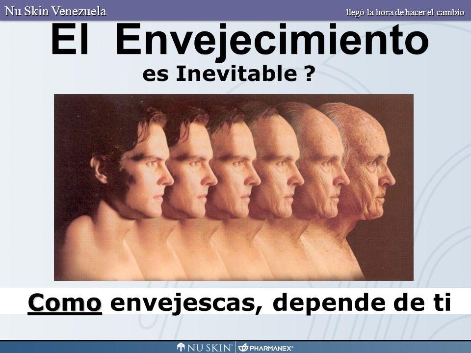 Algunos envejecen elegantemente Nu Skin Venezuela llegó la hora de hacer el cambio
