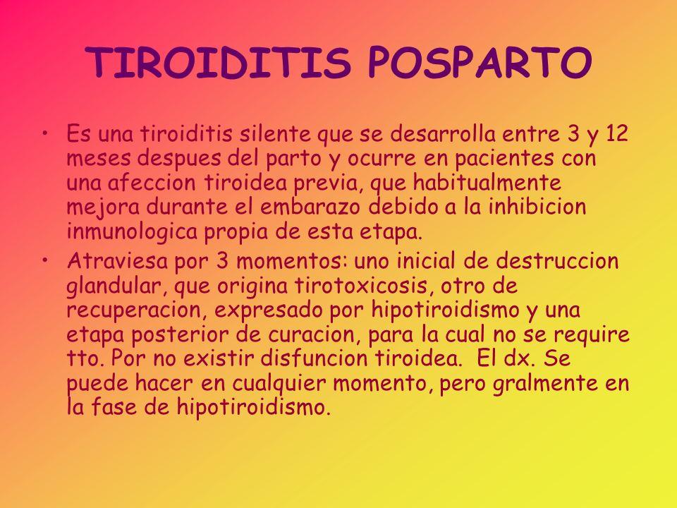 TORMENTA TIROIDEA Es la complicacion mas temida y casi erradicada de la hiperfuncion tiroidea, que de no recibir tto.