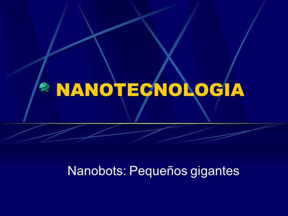 ¿Qué es Nanotecnologia.