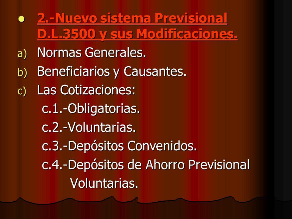 3.-Las Administradoras de Fondos de Pensión a) C lasificación de Fondos de Pensiones b) L as comisiones.