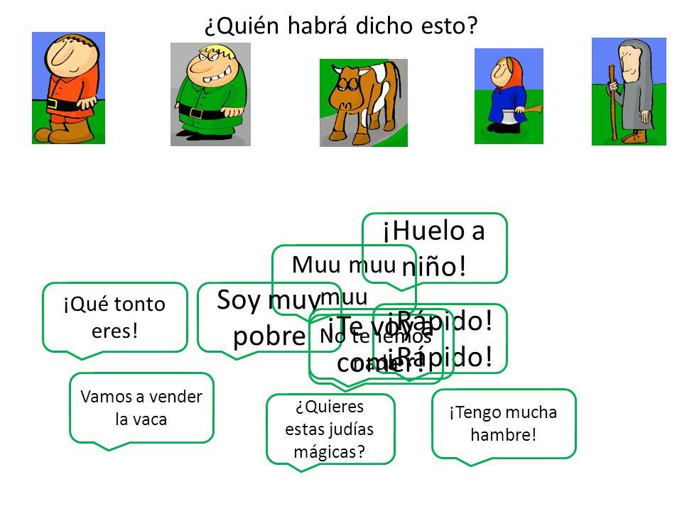 Title: Juan y las judías mágicas Group names: 1.