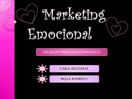 TALLER DE MARKETING ESTRATEGICO