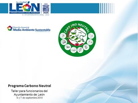 Programa Carbono Neutral