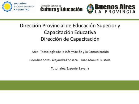 direccion provincial de educacion: