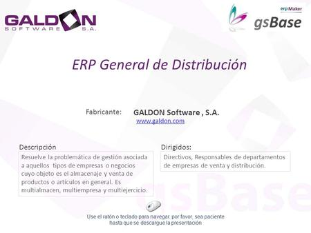 ERP General de Distribución