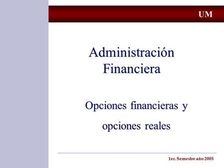 Opciones Financieras Sobre Acciones
