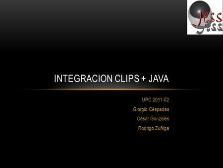 Integracion clips + java