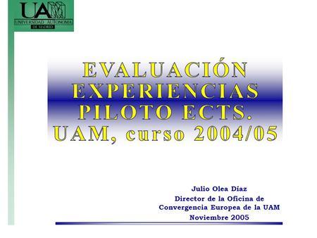 Resultados de las experiencias piloto de innovaci n for Oficina relaciones internacionales uam