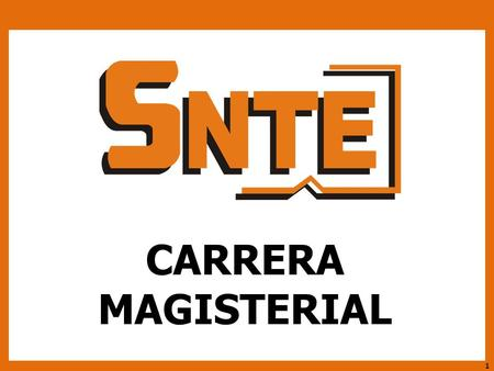 CARRERA MAGISTERIAL.