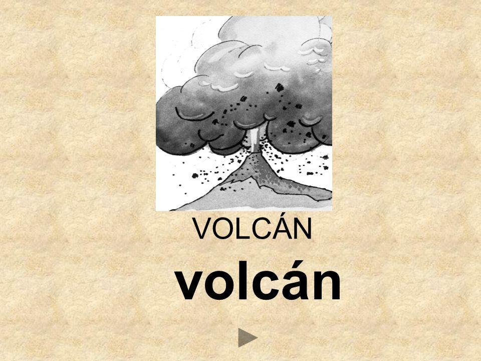 volcán VOLCÁN