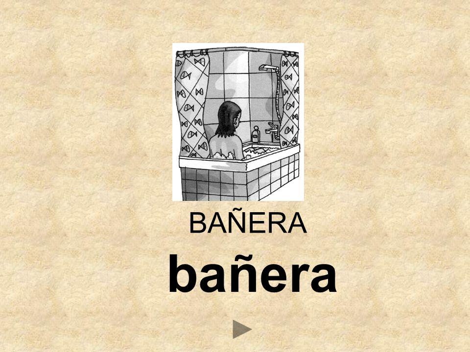 bañera BAÑERA