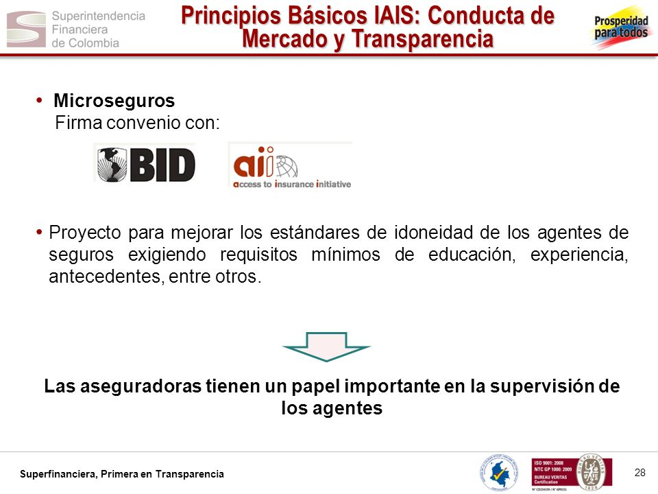 Superfinanciera, Primera en Transparencia...