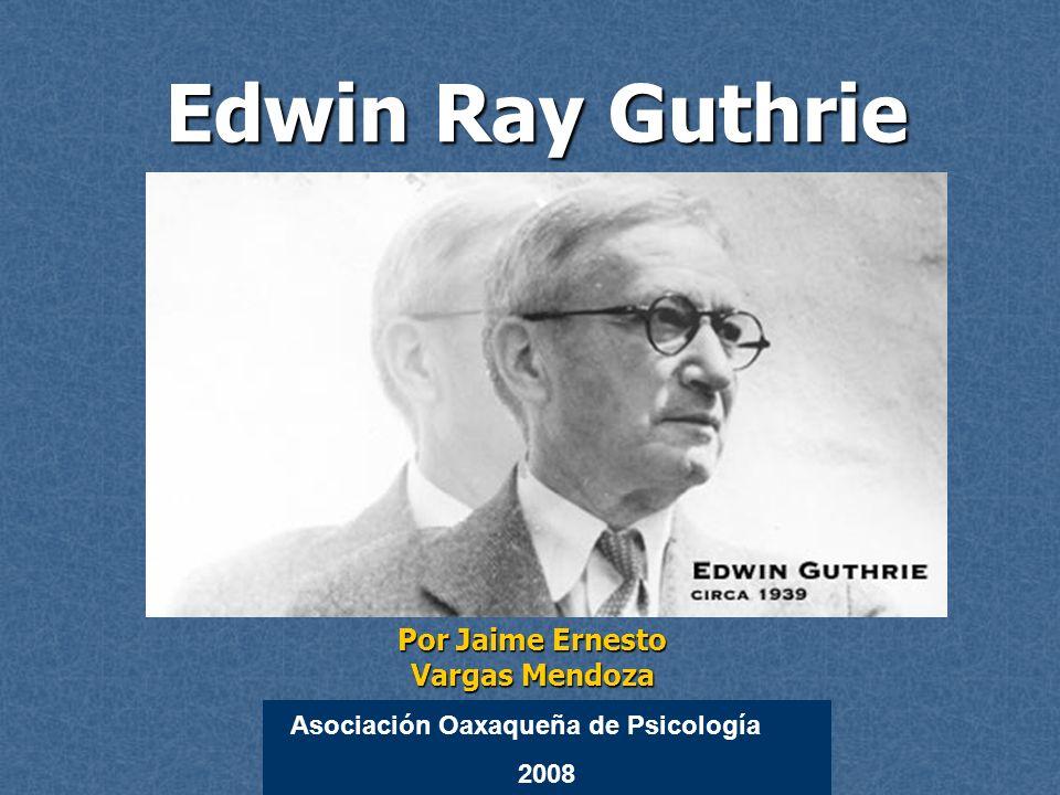 Edwin Ray Guthrie nació y creció en Lincoln, Nebraska.