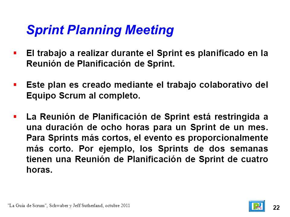 23 Esta reunión se puede dividr básicamente en 2: – Primera parte: ¿Qué se completará en este Sprint – Segunda parte: ¿Cómo se conseguirá completar el trabajo seleccionado.