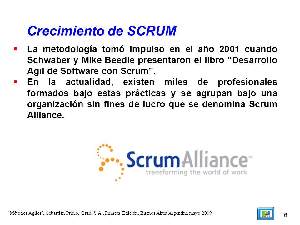 Definición de Scrum