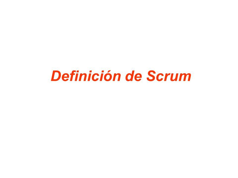 8 Scrum es un marco de trabajo de procesos que ha sido utilizado para gestionar el desarrollo de productos complejos desde principios de los años 90 Scrum no es un proceso o una técnica para construir productos; en lugar de eso, es un marco de trabajo dentro del cual se pueden emplear varios procesos y técnicas.