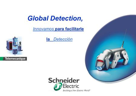 Global Detection, Innovamos para facilitarle la Detección