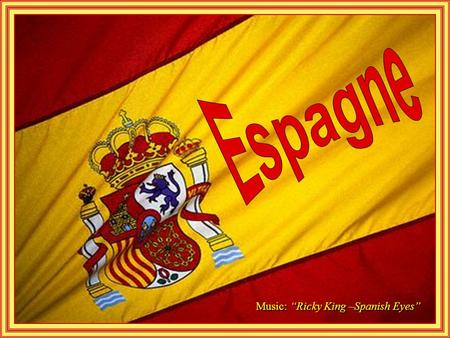 "Music: ""Ricky King –Spanish Eyes"" Escorial Monastery, Madrid."