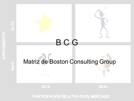 Matriz de Boston Consulting Group
