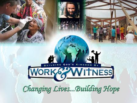 W ork & W itness Today. Ministerios Voluntarios/ Volunteer Ministries Mission Corps (NIVS) / Proyecto Abraham Work & Witness/ Trabajo y Testimonio Youthserve/
