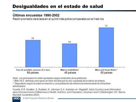 Algunas reflexiones sobre el desempleo y la inactividad juvenil ppt descargar - Population reference bureau ...
