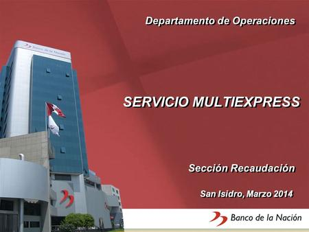 SERVICIO MULTIEXPRESS